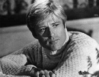 Robert Redford - I think Brad Pitt should play Robert Redford and Matthew McConahy (sp?) should play Paul Newman in a remake of Butch Cassidy and the Sundance Kid :D