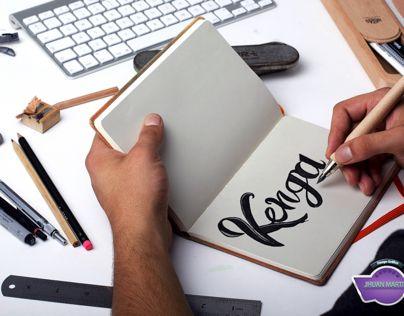 Lettering kenga