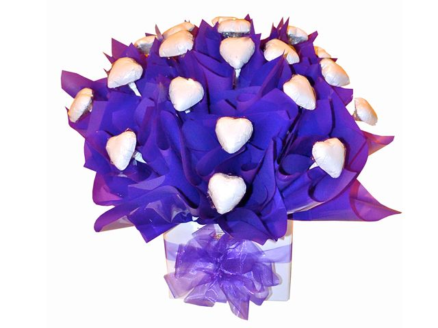 All My Heart Chocolate Bouquet