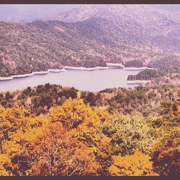 Fontana Lake in North Carolina
