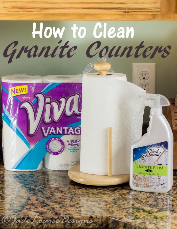 How To Clean Granite Counters To Keep Them Looking Gorgeous.