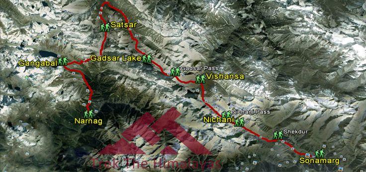 kashmirgreatlakestrek: Kashmir Great Lakes Trek