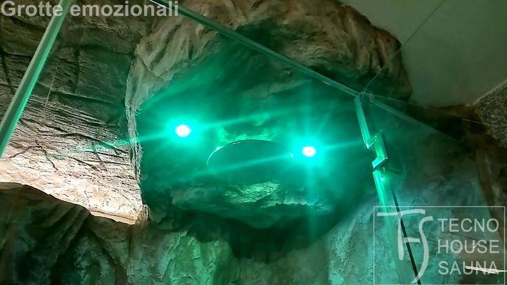Grotta sensoriale in rocce artificiali