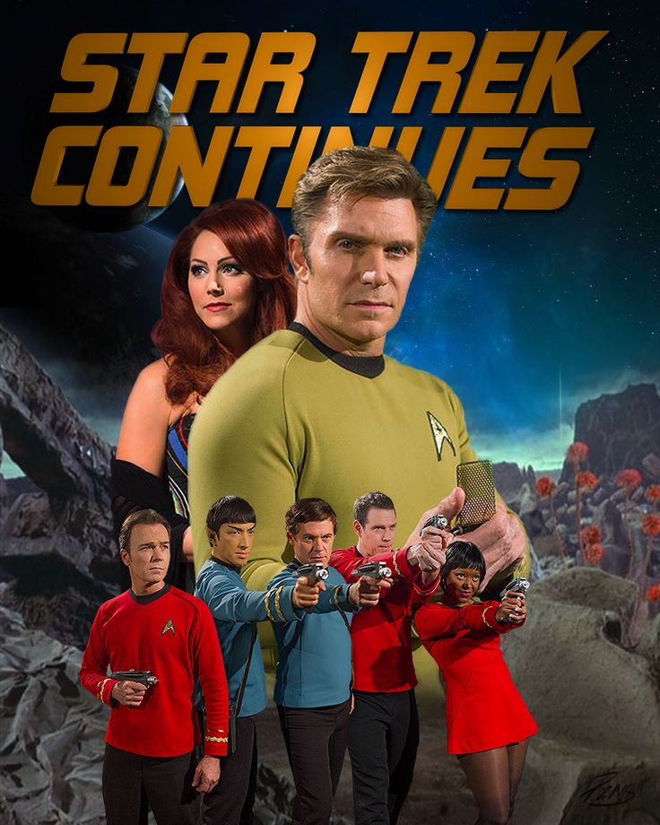Star Trek Continues; the true heir apparent to the original series.  Watch it online for free!