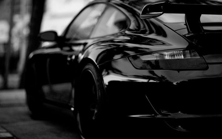 1600x900 Hd Wallpapers Free Download Hdwallpapershits Com Black Car Wallpaper Black Porsche Porsche Cars