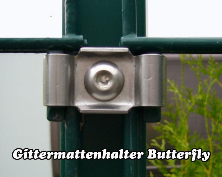 """Gittermattenhalter Modell """"Butterfly"""""""