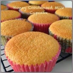My Mind Patch: Honey Condensed Milk Cupcake 蜂蜜炼乳杯子蛋糕