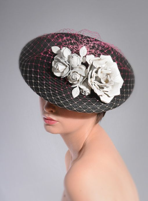 William Chambers Millinery SS15 #FashionSerendipity #Fashion and #Designer #Style #hats #millinery