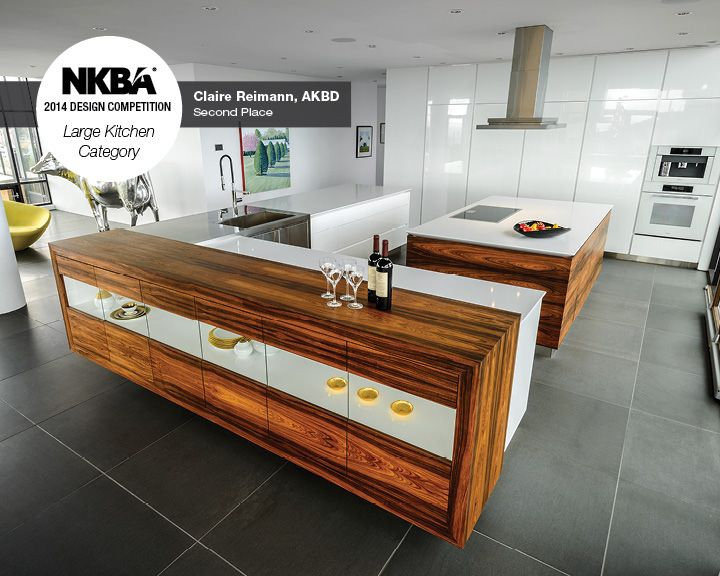 2014 nkba design competition winner large kitchen 2nd place party in the penthouse - Kitchen Design Competition