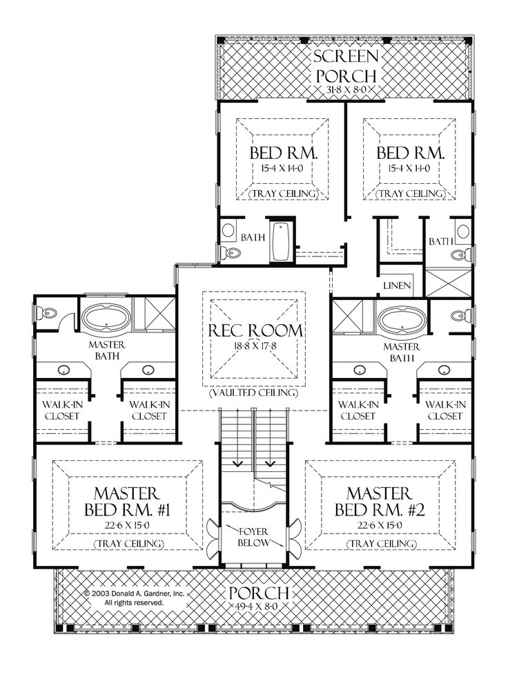 Home Plans HOMEPW75748 - 4,441 Square Feet, 4 Bedroom 5 ...