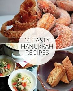 16 Tasty Hanukkah Recipes! Pick up ingredients at Trader Joe's