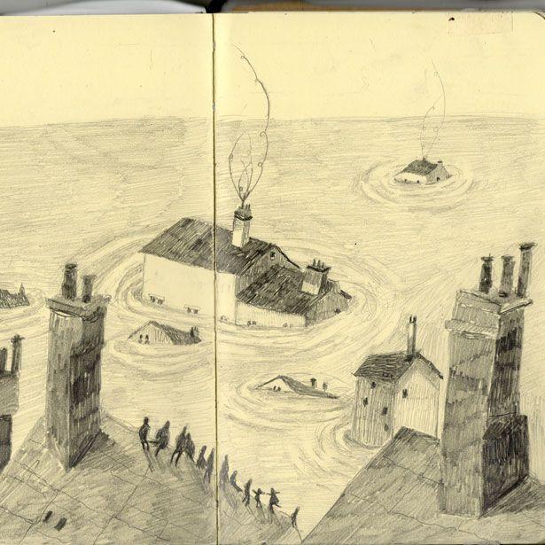 Melissa Castrillon sketchbook