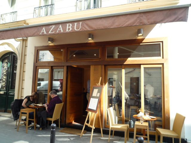 Azabu - The gastronomy of the land of the rising sun shines brightly in this restaurant where clients can enjoy, at the counter or a table, a meal dexterously put together on a hot plate right in front of your eyes.   address 3 rue André Mazet 75006 Paris Metro: Odéon (4,10) Tel: 01 43 66 72 05  hours Tuesday to Sunday, from 12:15 pm to 2 pm, and from 7h15 pm to 10:15 pm.  prices €€€€ #Paris #city #guide #restaurant