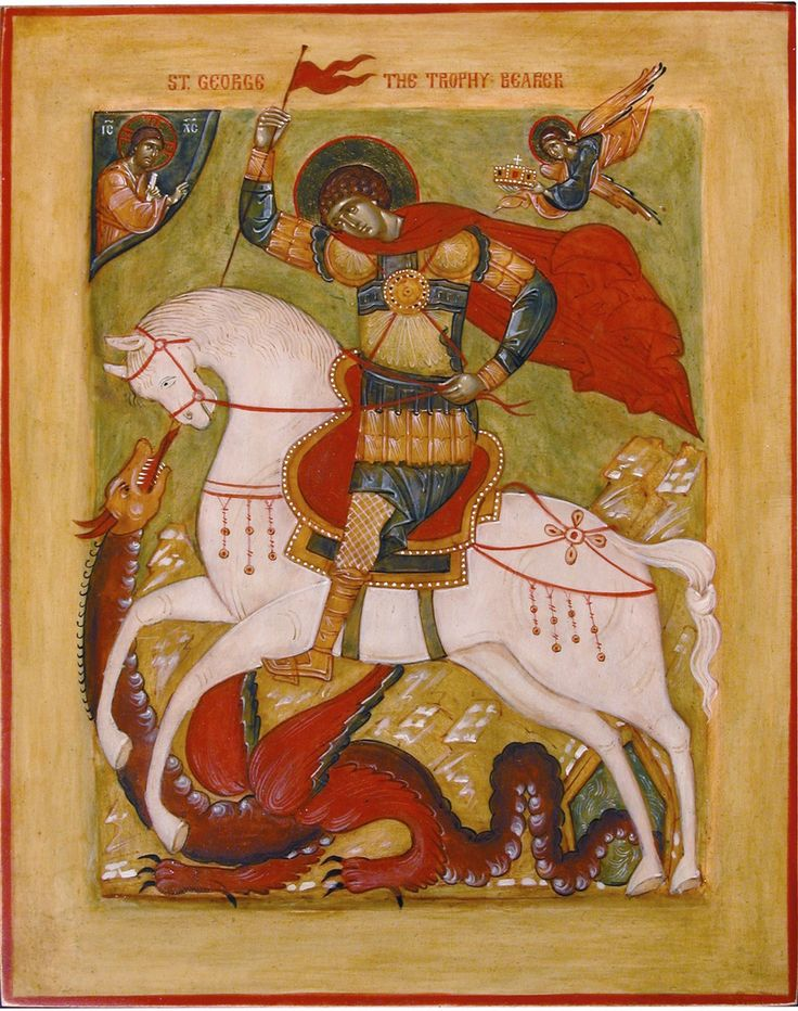 St. George and the Dragon | Flickr - Photo Sharing!