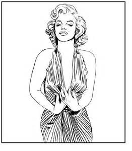 coloring pages marilyn monroe - photo#21