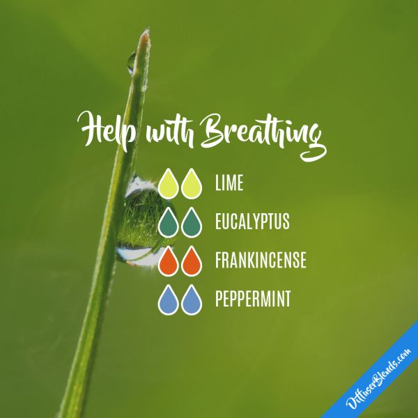 Help with Breathing - Essential Oil Diffuser Blend
