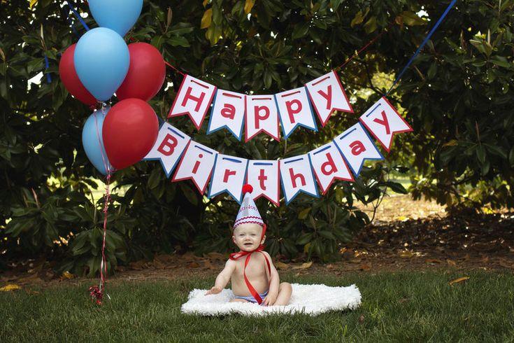 Landon's One Year Cake Smash Session  Photo By Megan White Photography