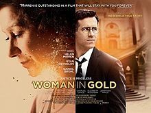 Woman in Gold is based on the true story of the late Maria Altmann, an elderly Jewish refugee living in Los Angeles, who, together with her young lawyer, Randy Schoenberg, fought the government of Austria for almost a decade to reclaim Gustav Klimt's iconic painting of her aunt, Portrait of Adele Bloch-Bauer I, which was stolen from her relatives by the Nazis in Vienna just prior to World War II. Altmann took her legal battle all the way to the Supreme Court of the United States.