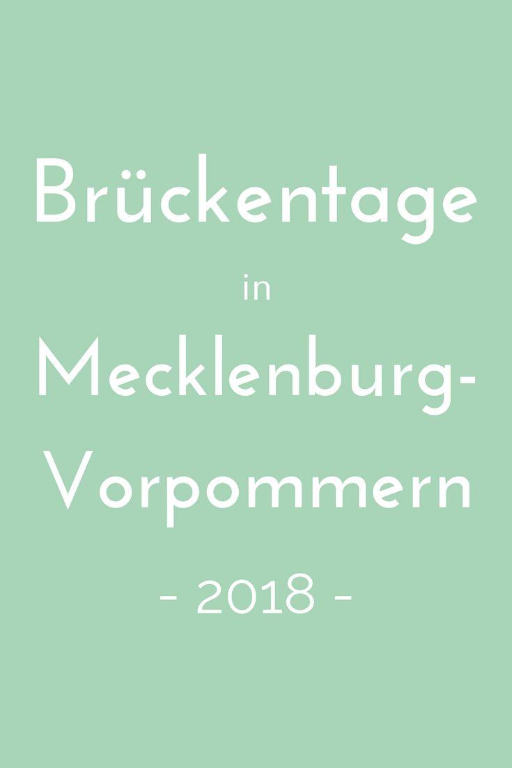 Brückentage nutzen, um ein paar Tage länger frei zu haben? Wie das geht, verrät der Brückentagekalender 2018 für Mecklenburg-Vorpommern