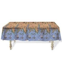 Een groot plastic tafelkleed bedrukt met een schatkaart! Afmeting: 270 x 135cm. Ook te gebruiken als achtergrond <br>(Scenesetter-muurposter) decoratie. kinderfeestje jungle-en-safari