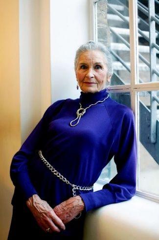 Daphne Selfe, 83 years. London, United Kingdom