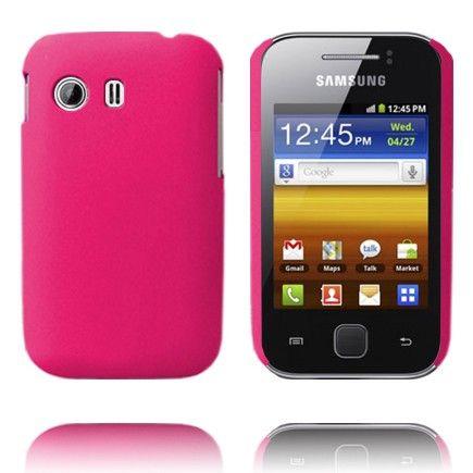 Hard Shell (Pinkki) Samsung Galaxy Y Suojakuori