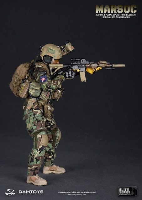 onesixthscalepictures: DAM Toys MARSOC (Marine Special Operations Regiment Special Ops) Team Leader : Latest product news for 1/6 scale figu...