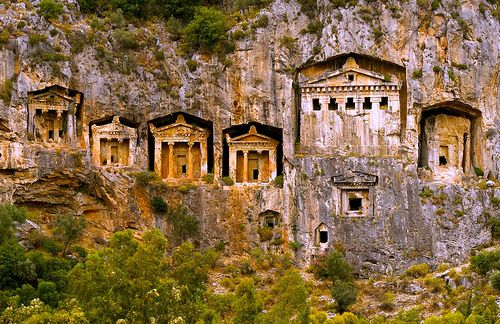 Lycian Tombs, Turkey
