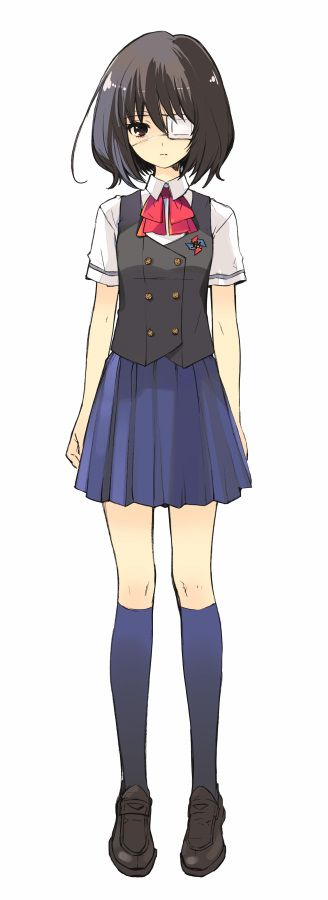 Tags: Anime, Ito Noizi, Official Art, Another, Misaki Mei