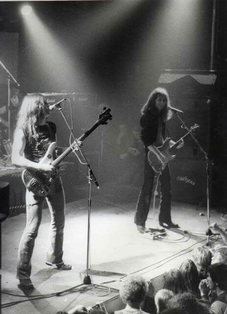 Lemmy kilmister, fast Eddie Clarke