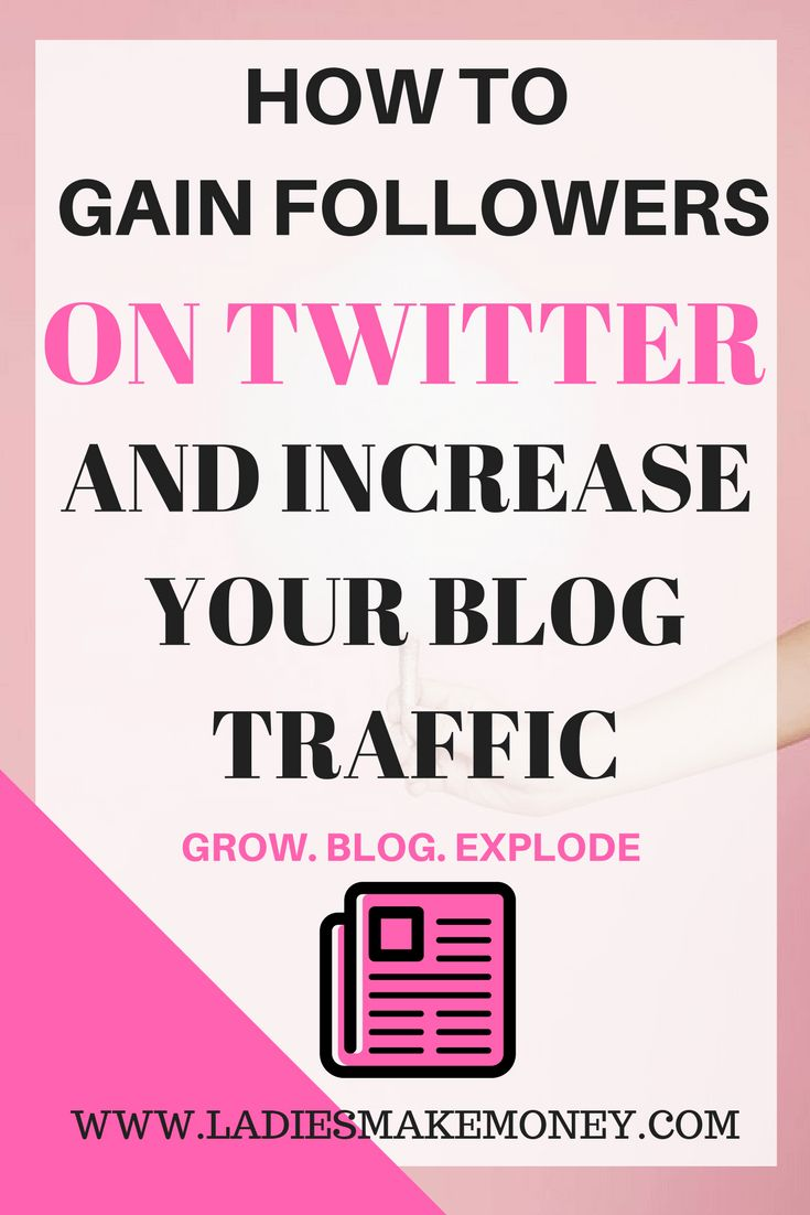 How to gain followers on Twittter and use it to increase your blog traffic. Increase your blog traffic by using social media.Learn how to use Twitter for business to grow your blog and make more money online. Want to make money online and increase your bl