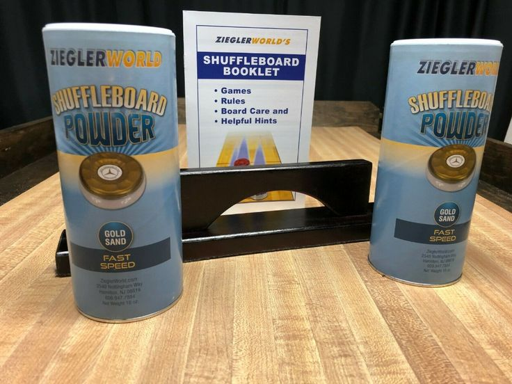 Details about 2 CANS FAST SPEED TABLE SHUFFLEBOARD POWDER