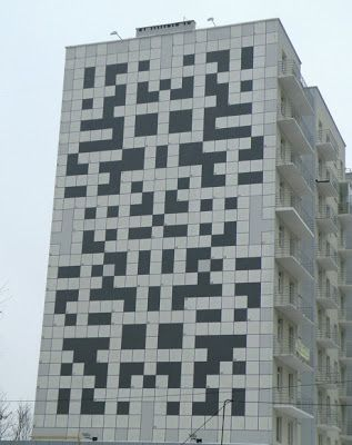 Discover Giant Crossword Of Lviv In Ukraine World S Largest Puzzle Spans The Side A Towerblock Its Clues Tered Throughout City