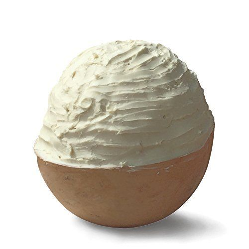 100% Organic Raw African Unrefined Ivory Shea Butter 1LB 16oz By Leomael - FREE