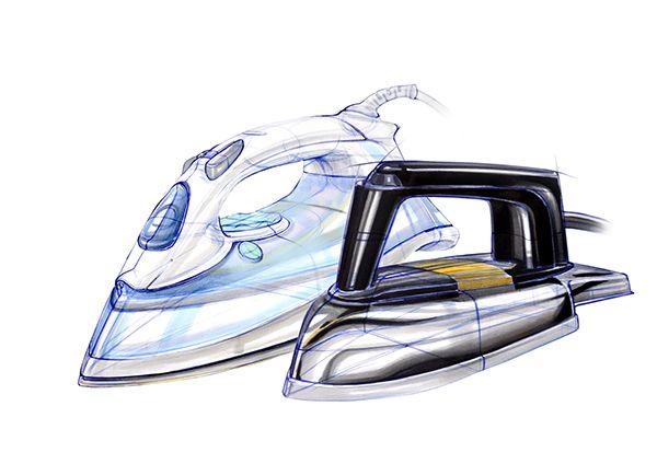 Iron Sketches_ID Sketching & Marker Rendering #sketch #designsketch #idsketch #productdesign