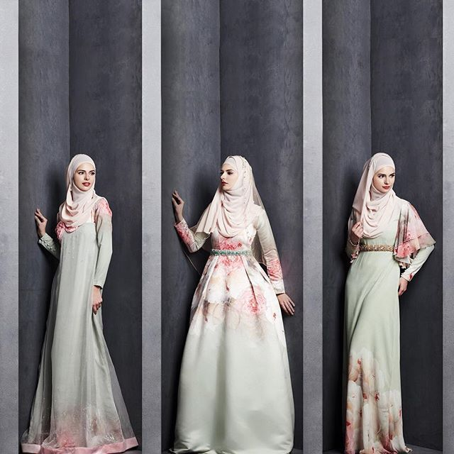 Jubah - muslimah clothing - malaysian designer MINAZ #minaz
