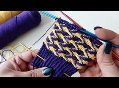 """Sockenmuster """"Schwipp-Schwapp"""" (Sock pattern """"Waves Sloshing"""") < YouTube video in German / yt"""