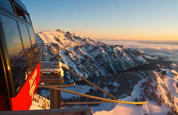 The Best Winter Ski and Snowboard Destinations: Jackson Hole Mountain Resort | Teton Village, Wyoming