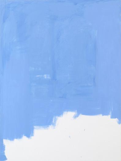 Michael Krebber MK.296, 2015 Acrylic on canvas  78 3/4 x 59 1/8 inches (200 x 150.2 cm)