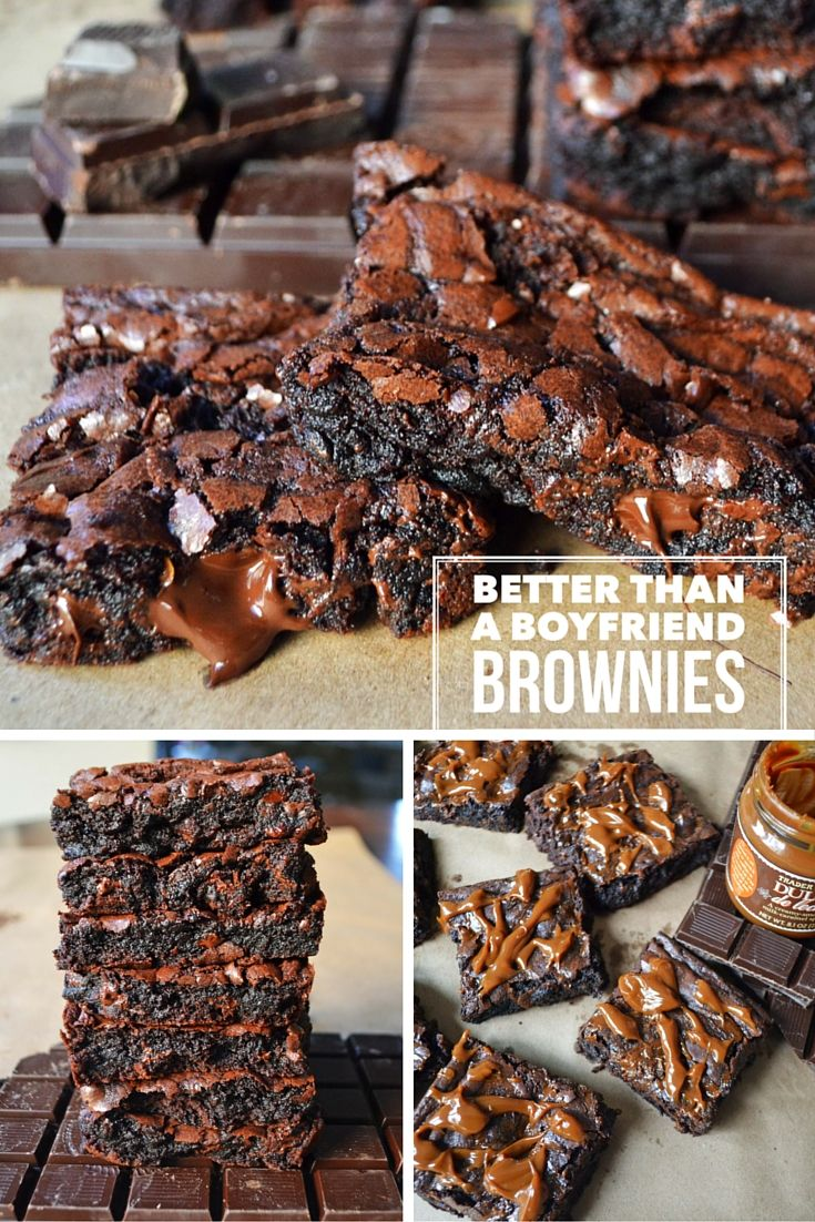 Better than a Boyfriend Brownies by Modern Honey are rich, fudgy,and decadent and will cure all your chocolate cravings. These are the best brownies out there and you might be tempted to eat the entire pan! She gives 5 tips on how NOT to screw up your brownies to ensure brownie success.