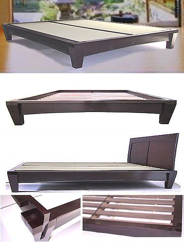 tatami room yamaguchi platform bed i can personally attest that this bed frame is