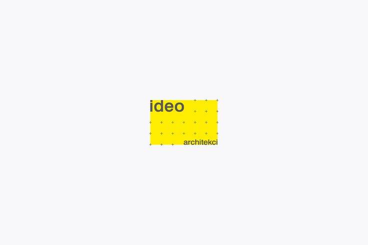 Animated logo for Ideo Architekci designed by For Brands