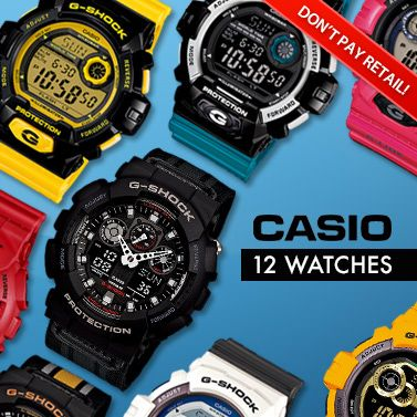 Casio G-Shock Watches Mega Sale - 12 Styles!   Unisex   Only at MyDeal