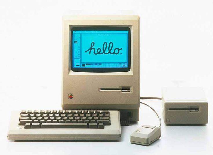 Apple Mac in 1984 (macworld, 2015)