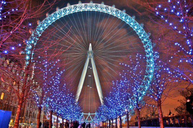 london eye | File:London Eye at night 4.jpg - Wikimedia Commons