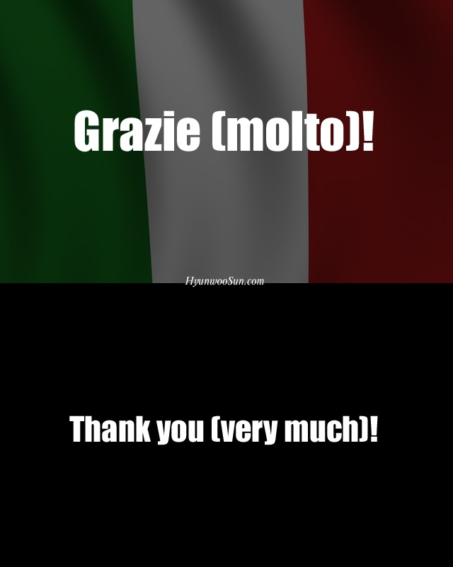 Thank you very much!: Language Lovers, Visit Venice, Speaking Italian, Pi Italian, Italian Expressions, Handsto Talk, Places Visit, Beautiful Italian
