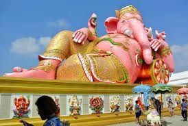 「ピンクの象」
