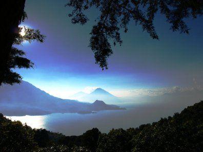 Lago de Atitlan - vista - Imagenes de Guatemala - SUPER
