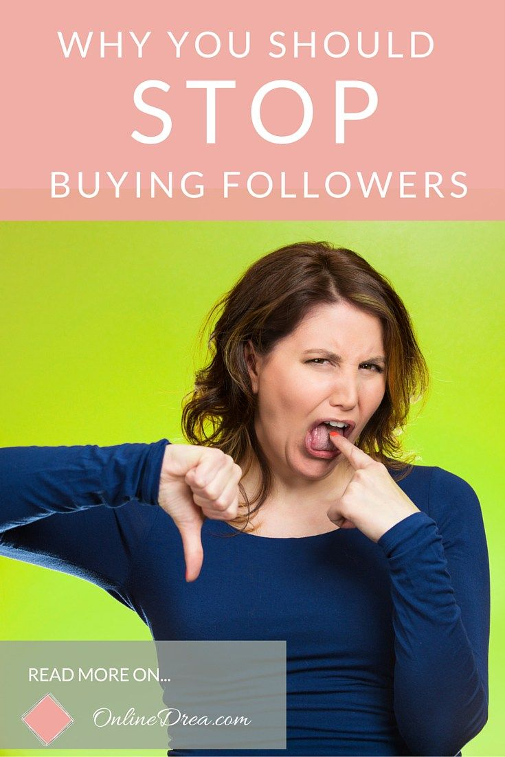 Buying fake followers will up your numbers, but those accounts won't generate any real activity or do anything at all except falsely inflate egos and maybe get your account banned. Here are 7 reasons not to do it.