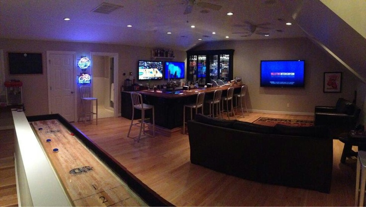 Man Cave Xchange : Images about home bar on pinterest modern